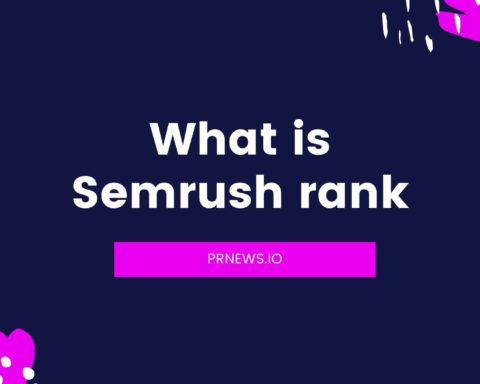 What is SEMrush Rank?